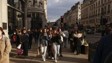 The UK economy has roared back to life.
