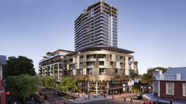 Developer Paul Blackburne says his projects, including as One Subiaco at the former pavilion markets site, are back to strong sales after a tough fortnight in April.