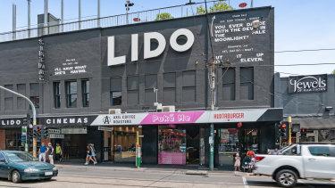 Lido Cinemas complex at 679 Glenferrie Road.