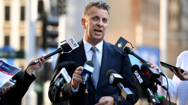NSW Transport Minister Andrew Constance has apologised for the problems.