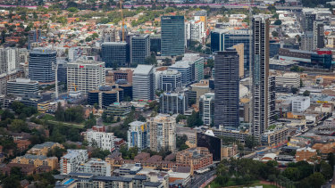 Support for greater urban density is stronger in Parramatta and other 'satellite centres'.