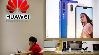Huawei's links with Australian universities are under a cloud.