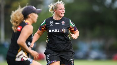 Seasoned campaigner: Indigenous All Stars women's captain Bec Young.
