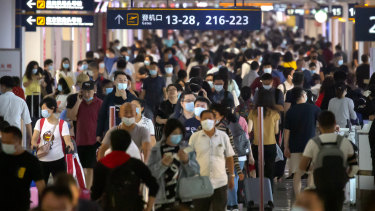 China's economy has rebounded since the pandemic.