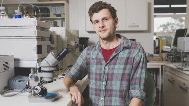 Australian National University Research School of Earth Sciences researcher Ilya Bobrovskiy.