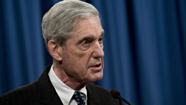 Robert Mueller, former-special counsel for the US Department of Justice.