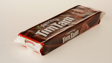 Tim Tams cost close to $15 a packet in UK supermarkets.