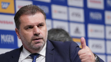 Optus Sport has secured the rights to the J League, home to Ange Postecoglou's champion team, the Yokohama F. Marinos.