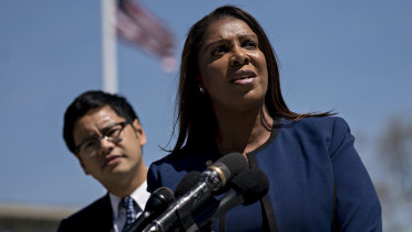 New York attorney-general Letitia James has opened an investigation into the NRA's tax-exempt status.