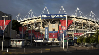 The Government plans to start demolition of Allianz Stadium before the next election.