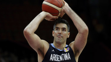 Veteran Luis Scola is one of the all-time greats of international basketball.