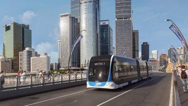 The Brisbane Metro has blown out from $944 million to $1.2 billion.