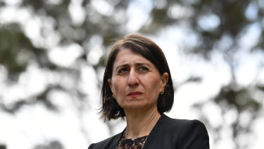 Gladys Berejiklian approved of more than $100 million going to councils in Coalition seats, but no signed documents exist.