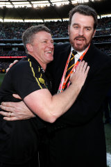 Damien Hardwick and CEO Brendon Gale have steered Richmond to success.