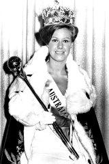 Sue Gallie was named Miss Australia 1966.