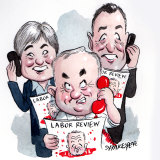 The Labor election review. Illustration: John Shakespeare