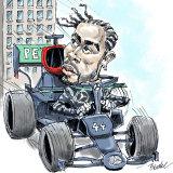 Formula One driver Lewis Hamilton.