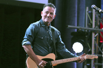 """Bruce Springsteen told the court he'd had """"two small shots of tequila"""" when a park officer stopped him."""