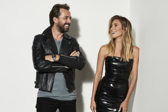 "Darren McMullen and Renee Bargh: ""I do all my research and I'm prepared. Darren rocks up and is charming and funny, and he does it all naturally — which is super annoying!"""