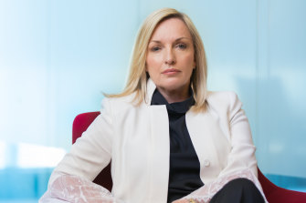 Christine Holgate has been named CEO of parcels businesses Global Express, a major rival to Australia Post.