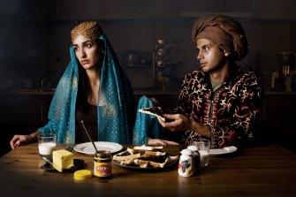 Hoda Afshar, Dog's Breakfast, 2011