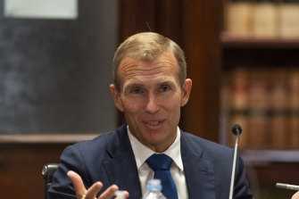 Planning Minister Rob Stokes had to defend the government's new planning policy for koalas during budget estimates in parliament on Tuesday.