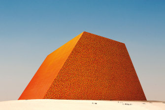 The proposed project The Mastaba of Abu Dhabi, by Christo.