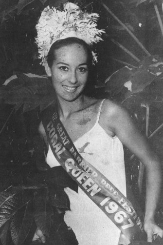 The Coral Queen: winning a 1967 swimsuit contest gave Glen-Marie Frost an introduction to the world of public relations.