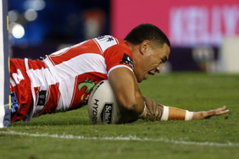 Tough: Tyson Frizell.