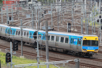 Melbourne's trains won't be grinding to a halt.