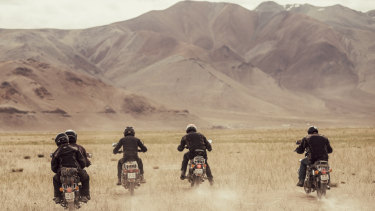 Nevermind Adventure business motorcycle tours.