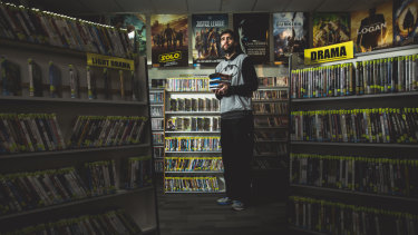 Josh Mudford, the owner of Network Video Charnwood. Photo: