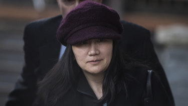 Huawei chief financial officer Meng Wanzhou is out on bail.