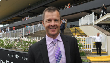 Stellar perfomer: Jason Deamer has an exciting runner at Scone today in Star Alibi.