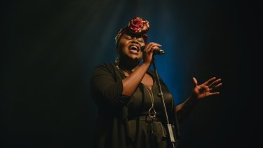 Thando is performing as part of the Voice for Change show..