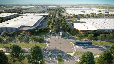 Kaufland will build a $459 million distribution centre in Merrifield Business Park.
