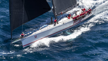 Smooth sailing: This year's race faced conditions radically different to 1998, with Wild Oats XI skipper Mark Richards describing the light winds as a challenge.