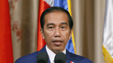 Indonesian President Joko Widodo will have little room to move if Australia wraps itself in the Israeli flag.