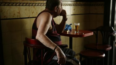 Older Queensland men are more likely than their younger counterparts to have drinking problems.
