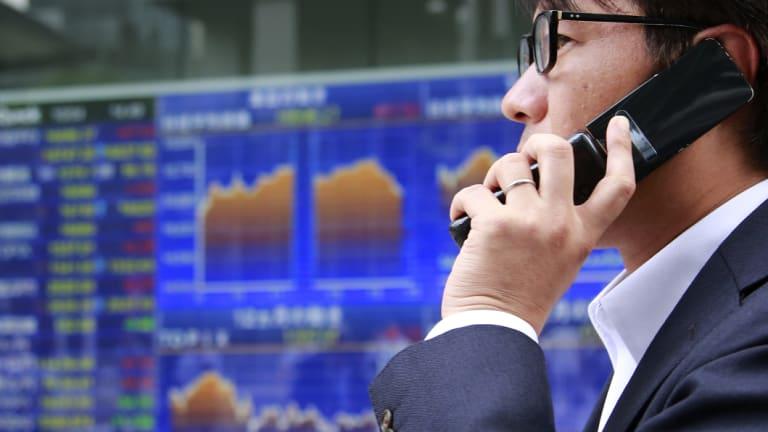 Global markets have fallen amid fears of a trade war.