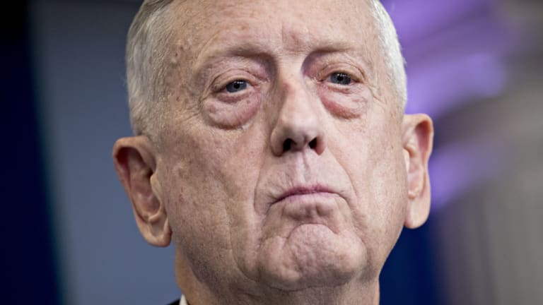 US Secretary of Defence Jim Mattis.