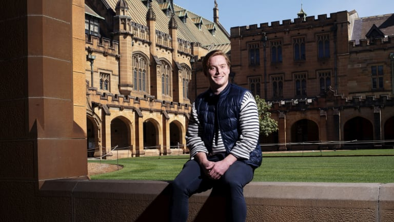 Sydney University winger James Kane has a passion for acting.