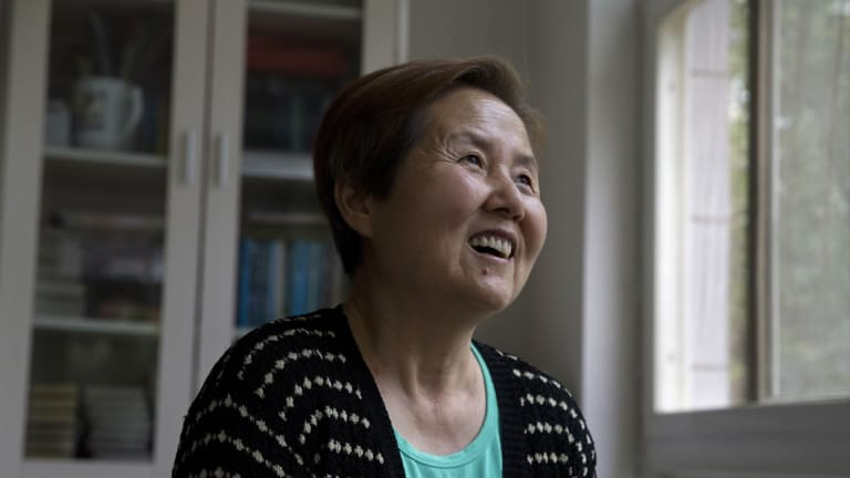 Xu Shijuan, a 63-year-old Seventh-Day Adventist.