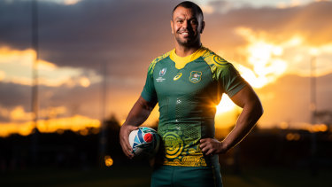 9104f7d35 Rugby World Cup 2019  Wallabies Indigenous jersey for World Cup revealed