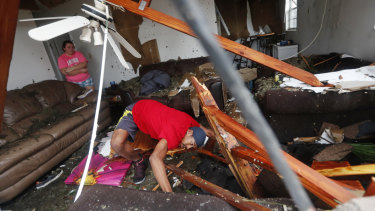 Hurricane Michael slammed into the Florida Panhandle with terrifying winds on Wednesday, US time.