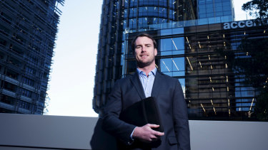 Sydney University second-rower David McDuling works for KPMG.
