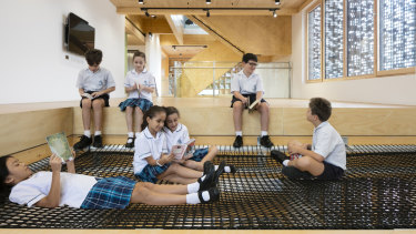 """A very different type of space"": Our Lady of the Assumption Catholic Primary School in North Strathfield."