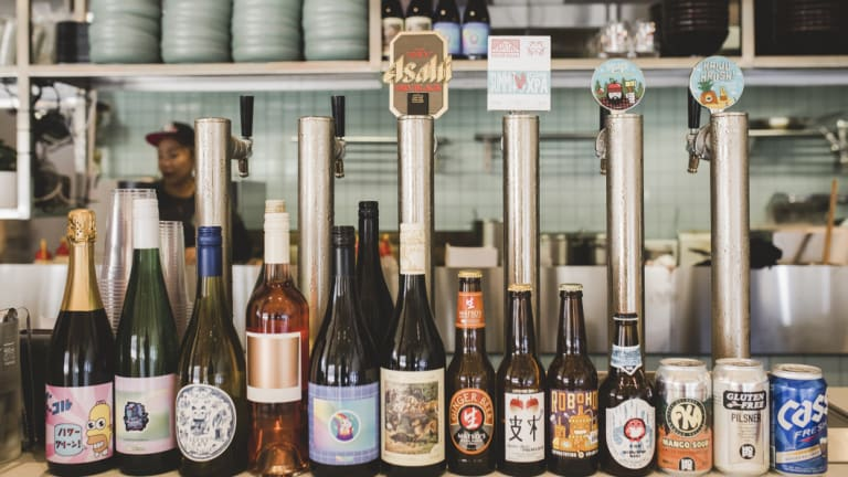 The drinks menu is a great one, and it will surprise you, from beer on tap, to special edition wines from Nick O'Leary.