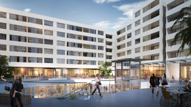 The Modena development by Dyldam at Baulkham Hills in Sydney.