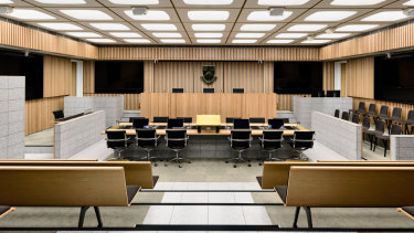 JCB Architects' Moot Court at Monash University's Clayton Campus.